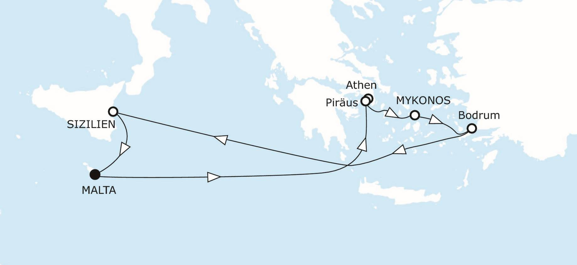Bodrum Karte.östliches Mittelmeer Mit Bodrum