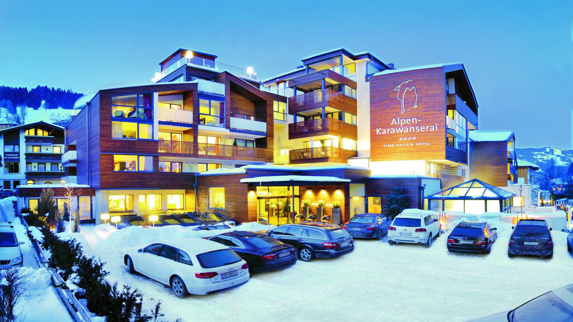 Alpen karawanserai time design hotel for Designhotel alpen