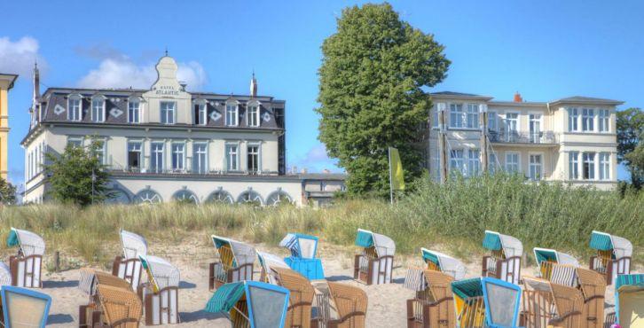Seetel strandhotel atlantic for Design hotels mittelmeer