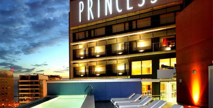Hotel barcelona princess for Design hotels mittelmeer