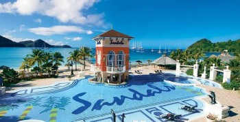 Hotel Sandals Grande St. Lucian Beach Resort